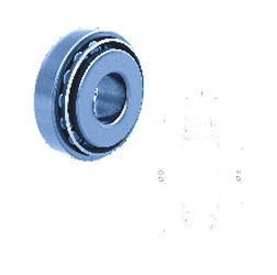 Fersa 32205F tapered roller bearings