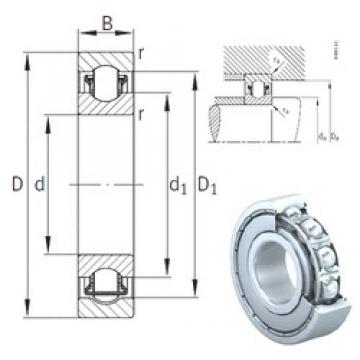 20 mm x 47 mm x 14 mm  INA BXRE204-2Z needle roller bearings