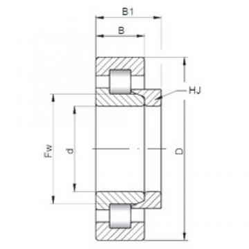 150 mm x 270 mm x 45 mm  ISO NH230 cylindrical roller bearings