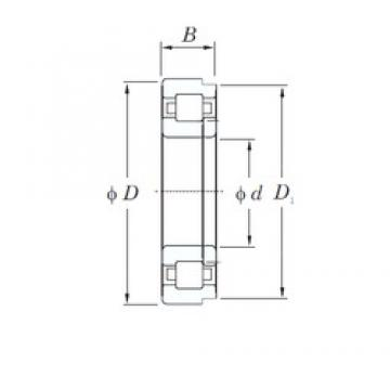 20 mm x 47 mm x 14 mm  KOYO NUP204 cylindrical roller bearings